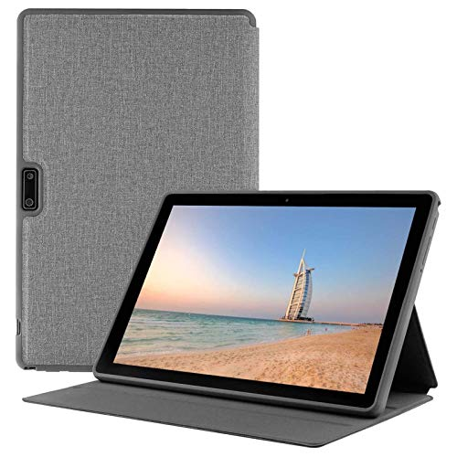 Android Tablet 10 Inch with Protective Cover, 3G Phablet Android 9.0 Pie, Dual SIM Card Slots and Cameras, GMS Certified, 32GB, Bluetooth, WiFi,GPS,Silver