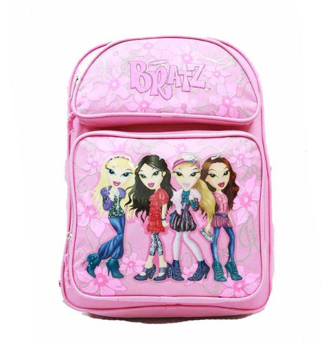Small Backpack - Bratz - with Water Bottle - Black - 4 Girls