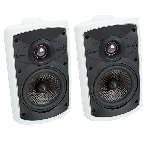 Niles OS5.5 (Pr) 5 Inch 2-Way High Performance Indoor Outdoor Speakers