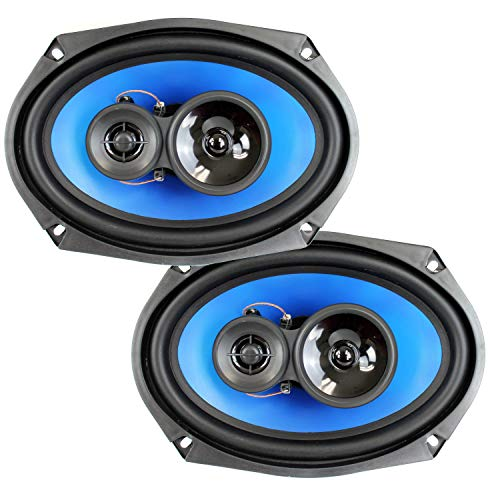 QPower (2) 6x9' 700 Watt 3-Way Car Audio Stereo Coaxial Speakers Pair | QP693