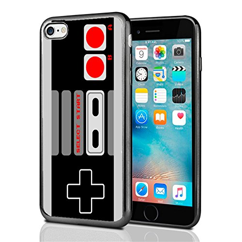Old School Gaming Controller for iPhone 7 (2016) & iPhone 8 (2017) Case Cover by Atomic Market