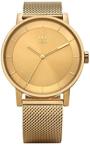 Adidas Men's Analogue Quartz Watch with Stainless Steel Strap Z04-502-00