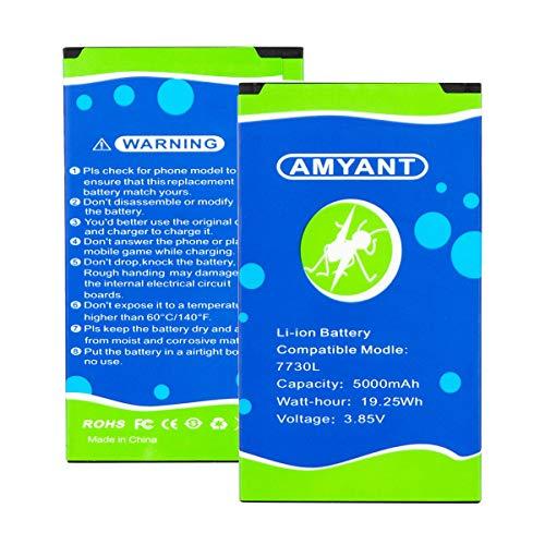 7730l 5000mAh amyant Replacement Battery for Novatel Jetpack 7730L 7730 Mobile Hotspot P/N: 40123117
