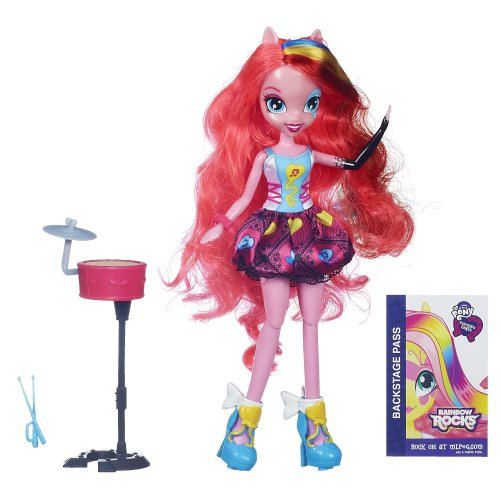 My Little Pony Equestria Girls Pinkie Pie with Drums Doll