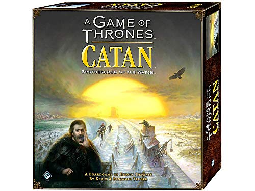 A Game of Thrones CATAN Board Game (Base Game) | Board Game for Adults and Family | Adventure Board Game | Ages 14+ | For 3 to 4 players | Average Playtime 60 minutes | Made by Catan Studio