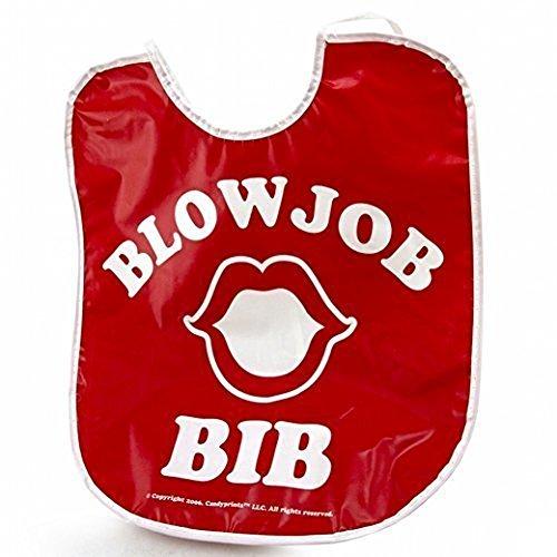Blow Job Bib - A Hilarious Gag Gift by Candyprints