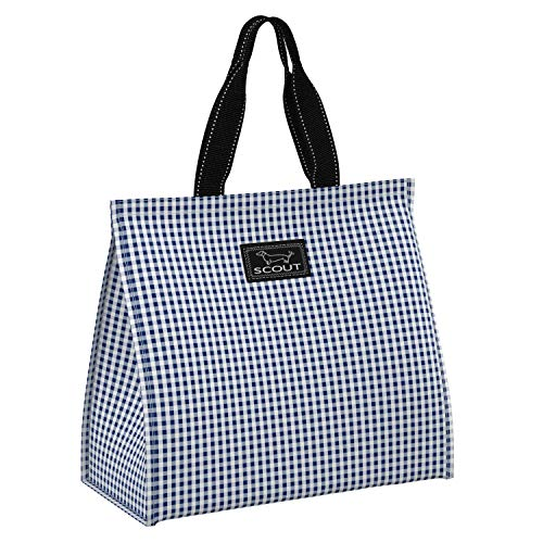 SCOUT Thermal & Louise Insulated Market Tote, Reusable Grocery Bag with Exterior Pocket (Multiple Patterns Available)