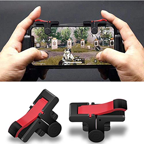 2Pcs PUBG Moible Controller Gamepad Free Fire L1 R1 Trigger PUGB Mobile Game Pad Grip L1R1 Joystick for iPhone Android Phone