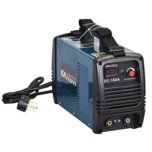 Amico S160AM, 160 Amp Stick Arc DC Inverter Welder, 110/220V Dual Voltage Welding Soldering