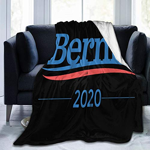 Bernie Sanders 2020 Fleece Blanket Ultra-Soft Hypoallergenic Plush Bed Couch Living Room Or Travel 60'x50'