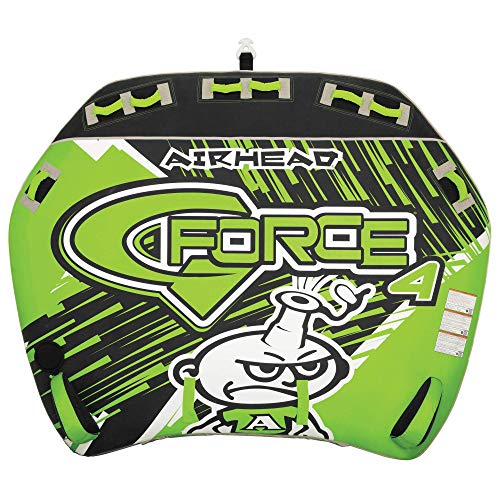 Airhead G-Force | 1-4 Rider Towable Tube for Boating