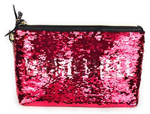 Victoria Secret Bombshell Cosmetic Bag With Sequins