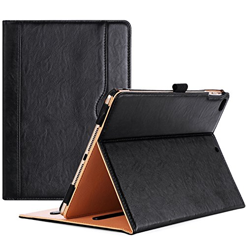ProCase iPad 9.7 Case (Old Model) 2018 iPad 6th Generation / 2017 iPad 5th Generation Case - Stand Folio Cover Case for Apple iPad 9.7 inch, Also Fit iPad Air 2 / iPad Air –Black