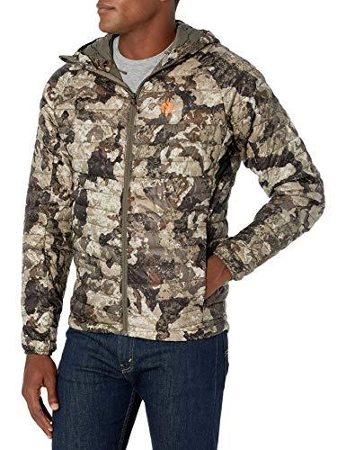 Nomad Men's Duodown Ultra-Light, Packable, Water Repellent Performance Jacket, Veil Cervidae, XXX-Large