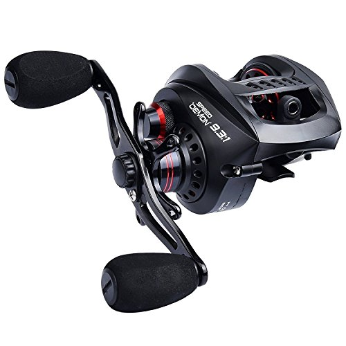 KastKing Speed Demon 9.3:1 Baitcasting Fishing Reel,Right Handed Reel