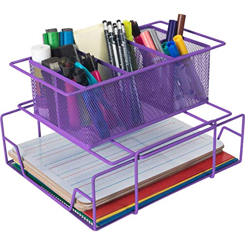 Really Good Stuff Group Materials Caddy (Purple)