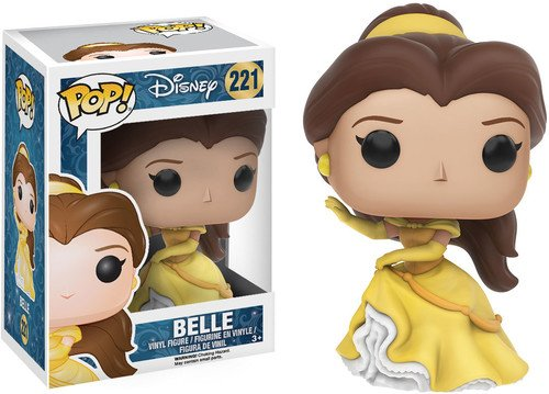 Funko POP Disney: Beauty & the Beast - Belle Action Figure,Brunette,vibrant Yellow