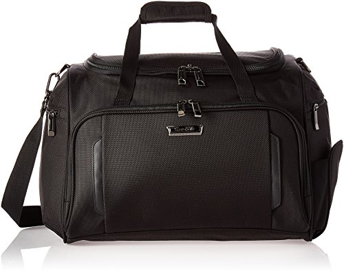 Samsonite Silhouette XV Softside Luggage with Spinner Wheels, Black, Travel Tote