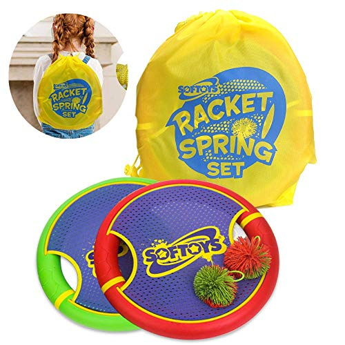 TOCO FREIDO Outdoor Games - Frisbee, Toss and Catch Game Set for Lawn Games, Yard Games or Beach Games, Sports Flying Disc - Sport Disc for Beach, Backyard, Park, Grass, Sand, Kids and Adult - 2 Pack