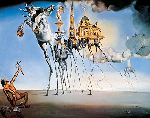 HUNTINGTON GRAPHICS The Temptation of St. Anthony by Salvador Dali - Art Print/Poster 11x14 inches