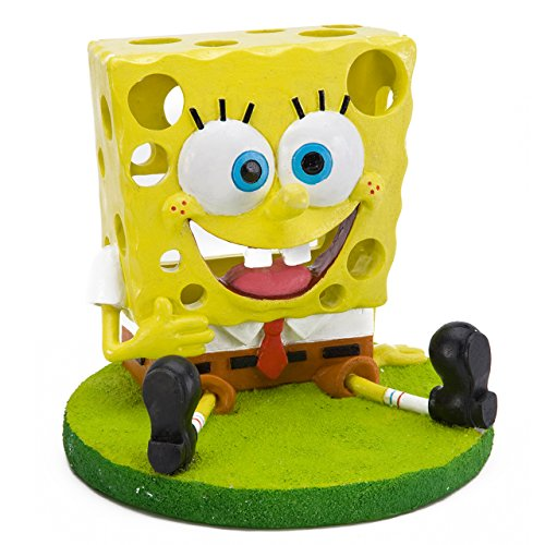 Penn Plax 5 in. SpongeBob Aquarium Ornament