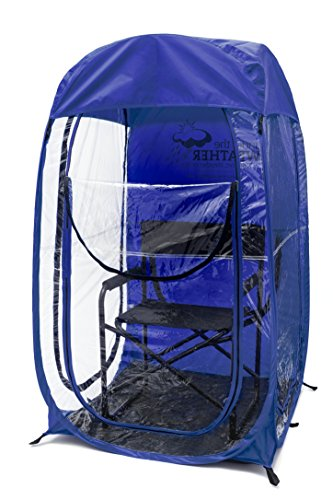Under the Weather Royal Blue MyPod 1 Person Pop-up Weather Pod. The Original, Patented WeatherPod