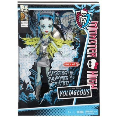 Monster High Power Ghouls Set of 2, Frankie Stein Voltageous and Toralei Catastrophe