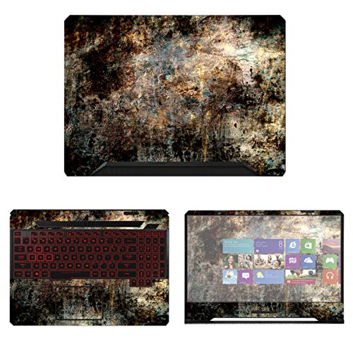 Decalrus - Protective Decal Skin Sticker for Asus TUF Gaming Laptop FX505 (15.6' Screen) case Cover wrap AStuf_FX505-254
