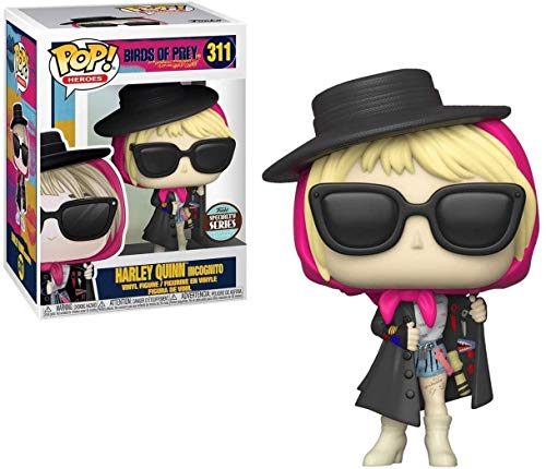 Funko POP! Heroes: Birds of Prey - Harley Quinn Incognito Specialt Standard