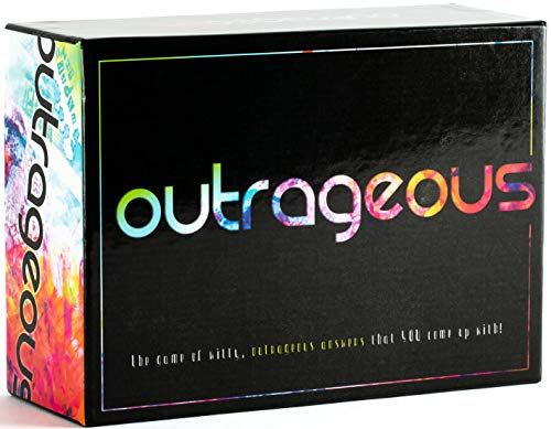 Outrageous Party Game - The Game of Witty, Hilarious Answers That You Come Up with