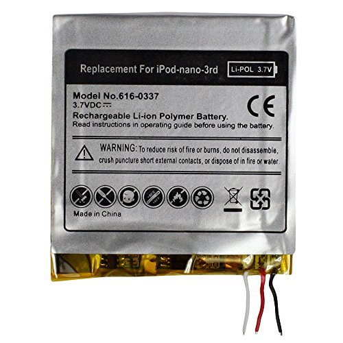 Fenzer Replacement Rechargeable Battery for Apple iPod Nano 3rd 3 Gen Generation