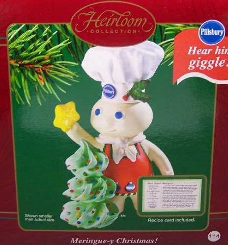 Carlton Cards 2003 Meringue-y Christmas! Pillsbury Doughboy Ornament COXR-104J