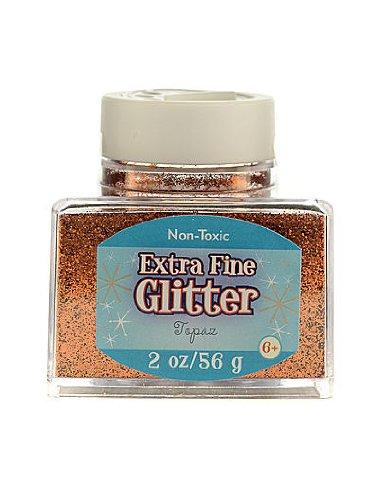 Advantus Corp Extra Fine Glitter topaz 2 oz. stackable jar [PACK OF 4 ]