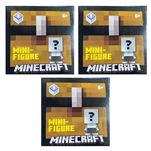 Minecraft Unlimited Mini Figure Chest Series 3 Purple Wave (3 Blind Boxes)
