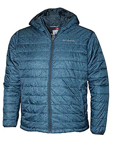 Columbia Men's Crested Butte Omni-Heat Hooded Jacket, Medium, Blue
