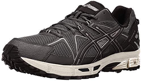 ASICS Men's Gel-Kahana 8 Trail Runner, Black/Onyx/Silver, 11 M US