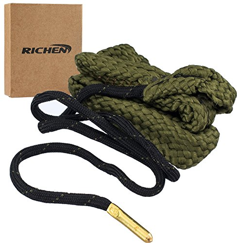 RICHEN Boresnake Gun Cleaning,Gun Barrel Cleaner,Gun Bore Cleaner for Rifle/Pisto/Shotgun(G03:.38 Cal.357 Cal.380 Cal & 9mm)