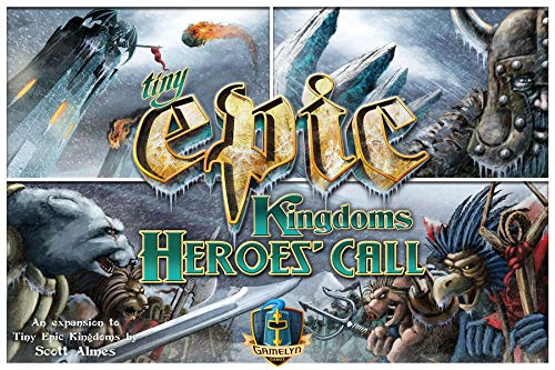 Tiny Epic Kingdoms Heroes Expansion Board Game: A Small Box 4X Fantasy Game of Heroes