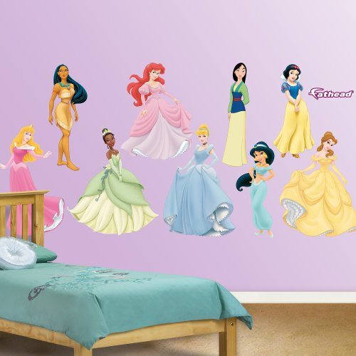 FATHEAD Disney Princess: Collection-X-Large Officially Licensed Removable Wall Decal