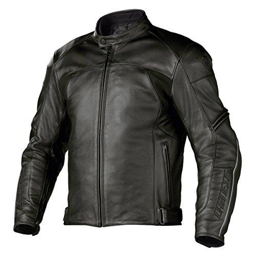 DAINESE Zen Evo Leather Motorcycle Jacket - 44/54, Black