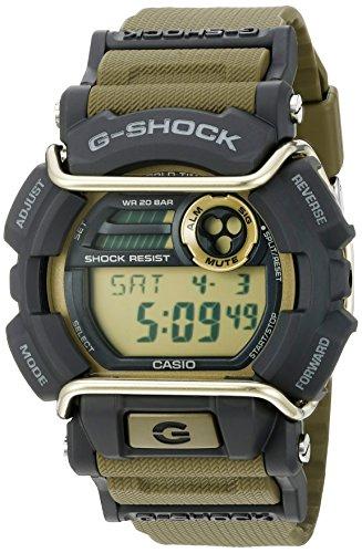 Casio G-Shock Quartz Watch with Resin Strap, Green, 55 (Model: GD400-9CR)