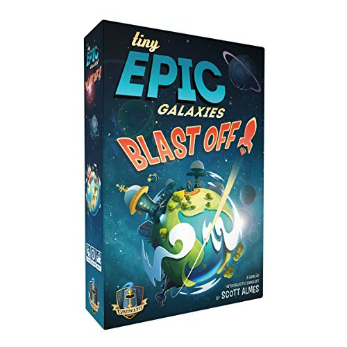 Tiny Epic Galaxies Blast Off! - A Game of Cosmic Combos [Amazon Exclusive]