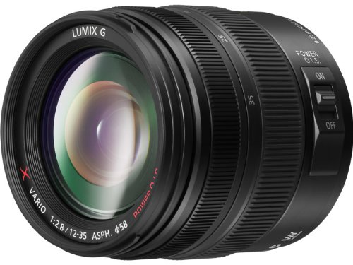 PANASONIC LUMIX G X VARIO LENS, 12-35MM, F2.8 ASPH., PROFESSIONAL MIRRORLESS MICRO FOUR THIRDS, POWER OPTICAL I.S. H-HS12035 (2012 Model - USA BLACK)