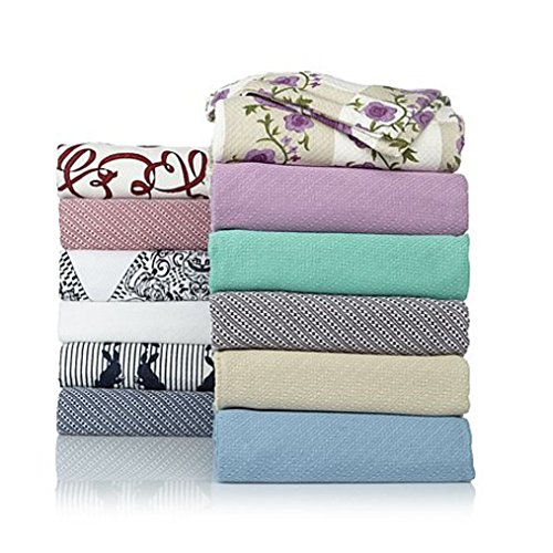 Jeffrey Banks Egyptian Cotton Blanket - White