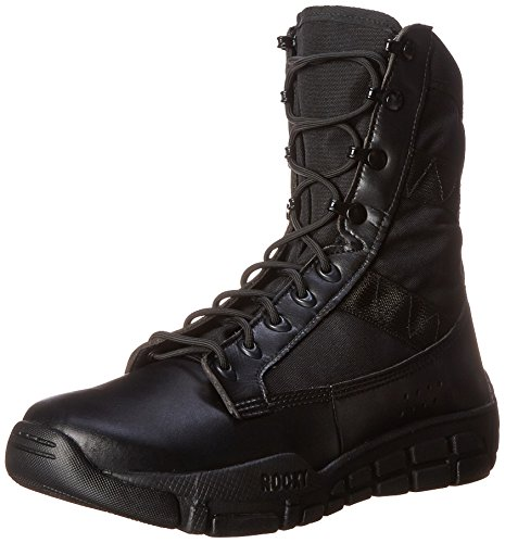 Rocky Men's RY008 Military and Tactical Boot, Black, 10.5 W US