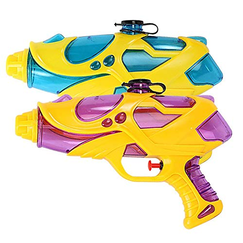Water Guns for Kids and Adults, 2 Pack Squirt Guns Water Blasters Toys Gifts for Boys Girls Swimming Pool Beach Water Fighting,Safty & Easy to Operate