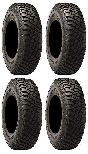Full Set of BFGoodrich Mud-Terrain T/A KM3 (8ply) Radial ATV Tires [30x10-14](4)