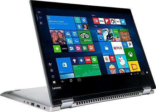 2018 Newest LENOVO IdeaPad 2-in-1 High Performance 14' HD LED Backlight Touchscreen Laptop Computer, Intel Pentium 4415U, 4GB DDR4, 500GB HDD, USB 3.0, HDMI, Bluetooth, Webcam, Windows 10