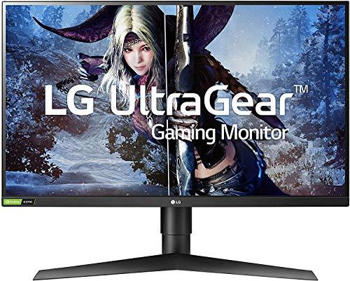 LG 27GL850-B 27 Inch Ultragear QHD Nano IPS 1ms NVIDIA G-Sync Compatible Gaming Monitor