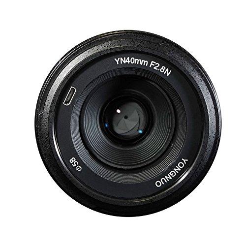 YONGNUO YN40mm F2.8N 1:2.8 Light-Weight Standard Prime AF/MF Lens for Nikon DSLR Cameras